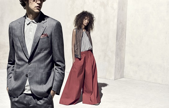 Brunello Cucinelli mens and womens collection exclusity